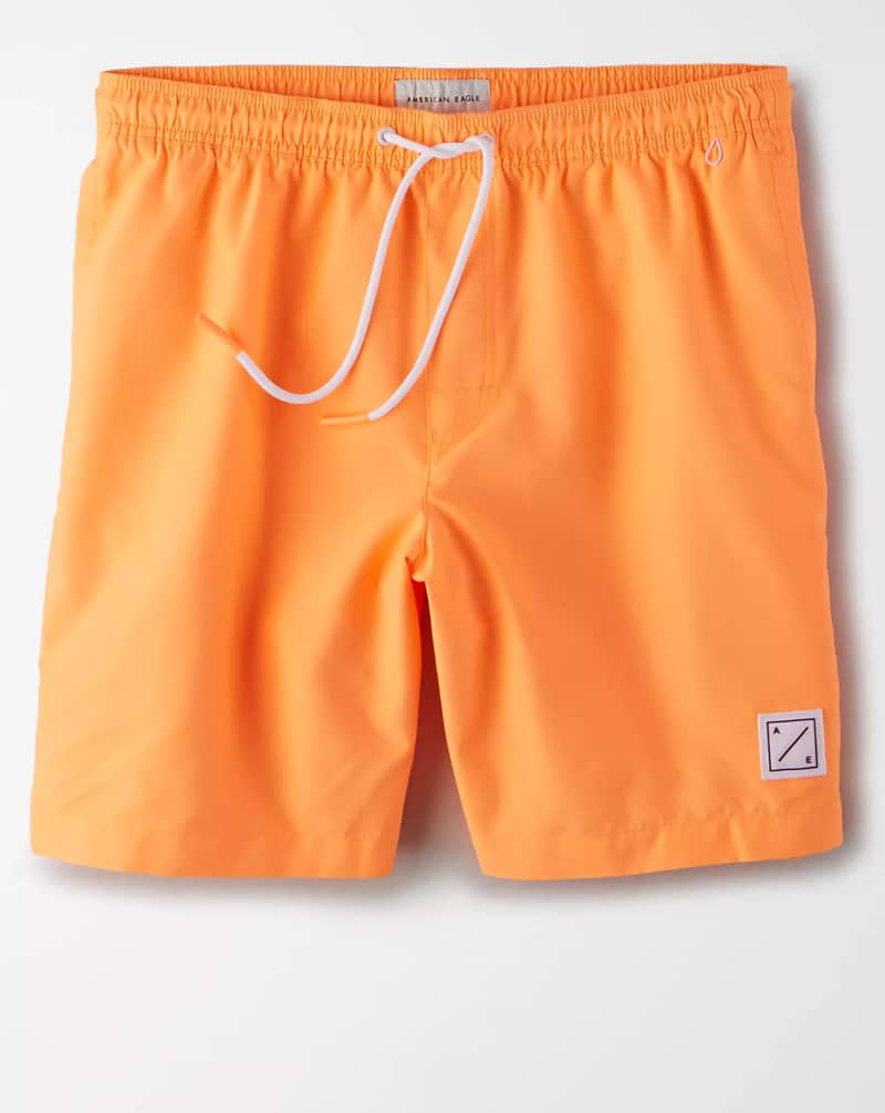 "American Eagle 8"" Swim Trunk"